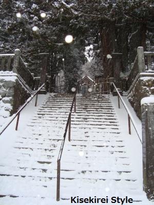 戸隠神社中社階段