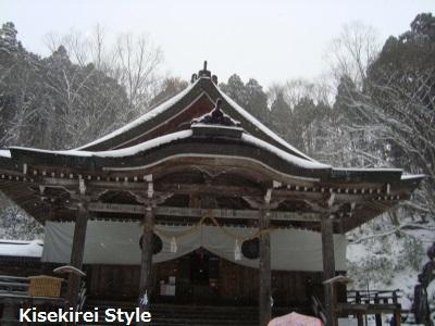 戸隠神社中社本殿