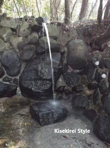 玄賓庵の滝