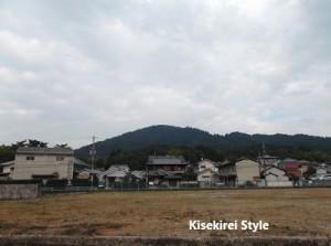 三輪駅から望む三輪山