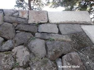 紋を刻んだ石