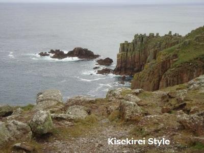 ランズエンドの崖