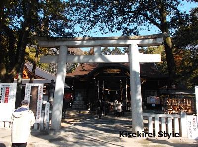 武田神社・鳥居2