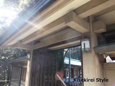 東郷神社横