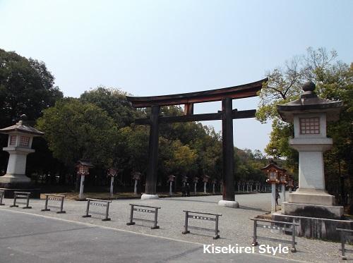 橿原神宮鳥居