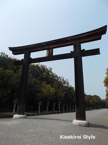 橿原神宮鳥居2