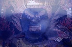 ここは本当にすごい場所~金峯山寺特別ご開帳に行ってきた 17th April, 2014