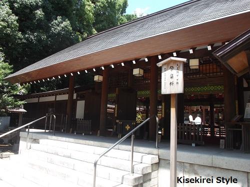 乃木神社~正しいことを知りたい時には、こちらに伺っていた