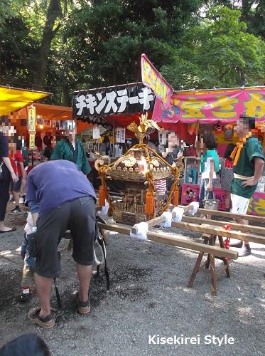 代々木八幡宮 例大祭2014-12
