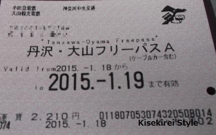 大山フリー切符
