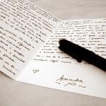 手書きの力