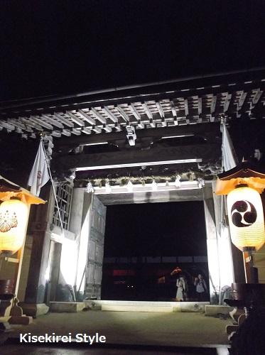 金剛峯寺・蟠龍庭夜間特別拝観26
