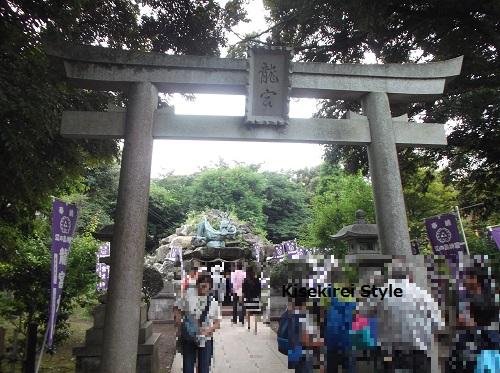 江島神社 奥津宮27
