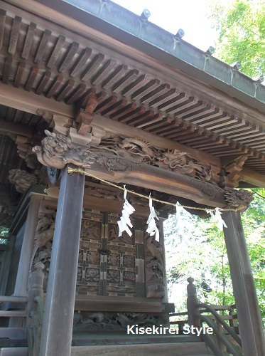 武蔵御嶽神社玉垣21