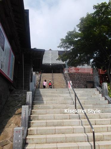 201508武蔵御嶽神社石段4
