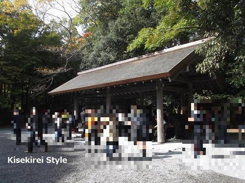 2015年11月伊勢神宮朔日参り内宮御神楽9