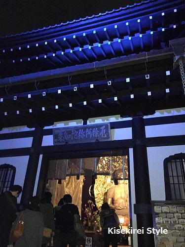 長谷寺鎌倉夜間17