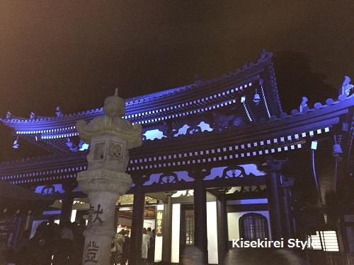 長谷寺鎌倉夜間6