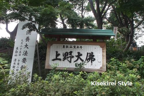 寛永寺上野大仏2