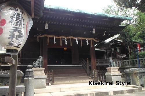 五条天神社&花園稲荷神社8